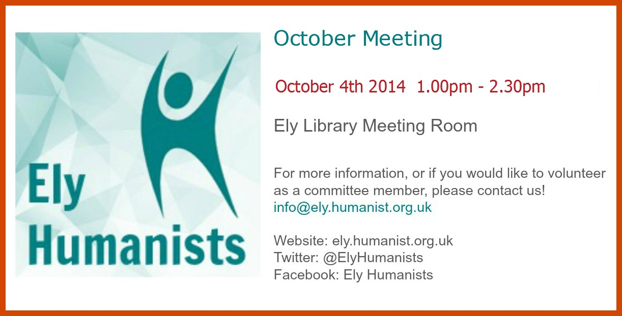 October Meeting graphic border