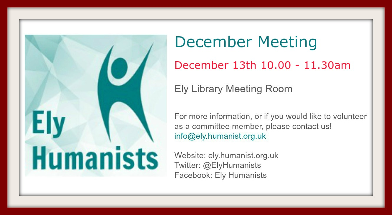 December Meeting graphic